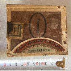 Cajas de Puros: PEQUEÑA CAJA DE CIGARRILLOS. Lote 143888594