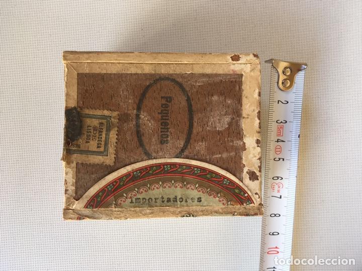 Cajas de Puros: PEQUEÑA CAJA DE CIGARRILLOS - Foto 2 - 143888594