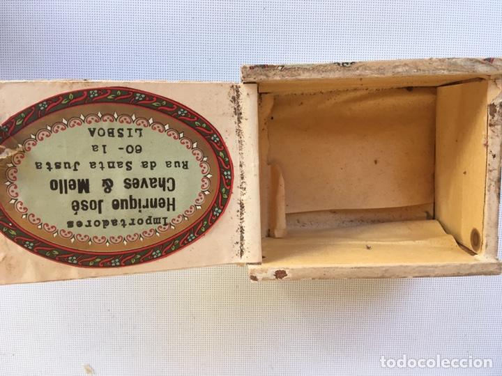Cajas de Puros: PEQUEÑA CAJA DE CIGARRILLOS - Foto 3 - 143888594