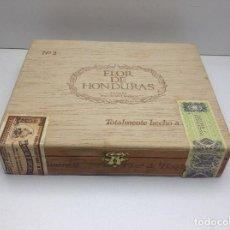 Cajas de Puros: CAJA CON 24 PUROS FLOR DE HONDURAS - TANASA N° 2 - HECHO A MANO . Lote 144107258
