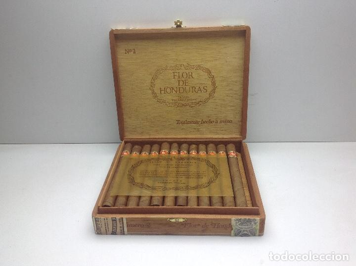Cajas de Puros: CAJA CON 24 PUROS FLOR DE HONDURAS - TANASA N° 2 - HECHO A MANO - Foto 2 - 144107258