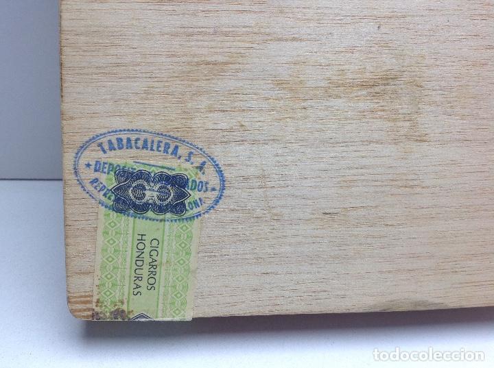 Cajas de Puros: CAJA CON 24 PUROS FLOR DE HONDURAS - TANASA N° 2 - HECHO A MANO - Foto 6 - 144107258