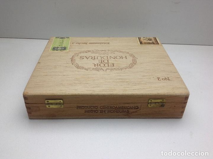 Cajas de Puros: CAJA CON 24 PUROS FLOR DE HONDURAS - TANASA N° 2 - HECHO A MANO - Foto 7 - 144107258