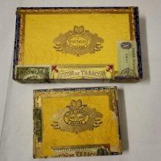 Cajas de Puros: DOS CAJAS DE PUROS VACÍAS PARTAGAS Y Cª. . Lote 145053862