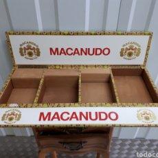 Cajas de Puros: EXPOSITOR DE PUROS MACANUDO PARA ESTANCOS. Lote 145150521