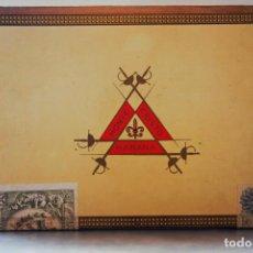 Cajas de Puros: PARA COLECCIONISTAS: CAJA DE PUROS HABANOS MONTECRISTO SIN ESTRENAR DE 1.990. Lote 145207154