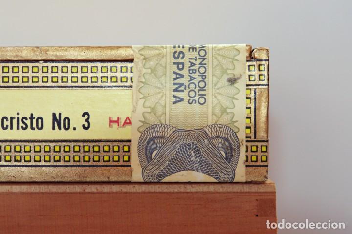 Cajas de Puros: PARA COLECCIONISTAS: CAJA DE PUROS HABANOS MONTECRISTO SIN ESTRENAR DE 1.990 - Foto 4 - 145207154
