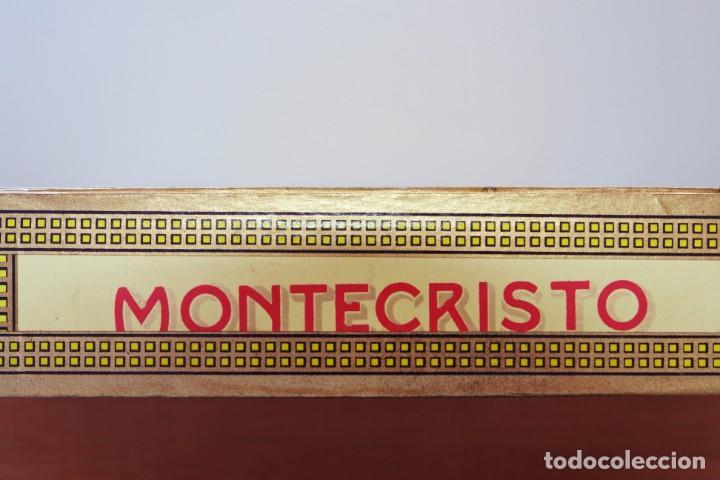 Cajas de Puros: PARA COLECCIONISTAS: CAJA DE PUROS HABANOS MONTECRISTO SIN ESTRENAR DE 1.990 - Foto 5 - 145207154