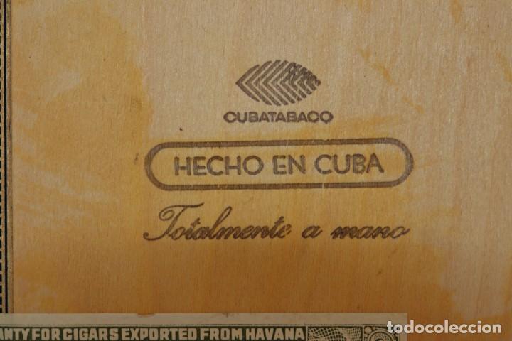Cajas de Puros: PARA COLECCIONISTAS: CAJA DE PUROS HABANOS MONTECRISTO SIN ESTRENAR DE 1.990 - Foto 8 - 145207154