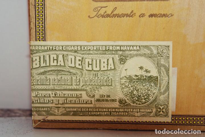 Cajas de Puros: PARA COLECCIONISTAS: CAJA DE PUROS HABANOS MONTECRISTO SIN ESTRENAR DE 1.990 - Foto 10 - 145207154