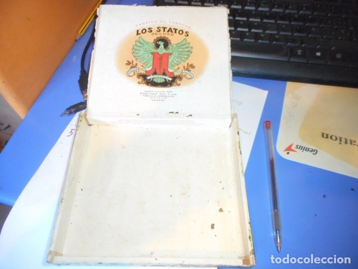Cajas de Puros: caja puros vacia los statos de luxe habana cuba - Foto 3 - 145935498