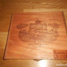Cajas de Puros: CAJA PARA PUROS Nº 5 - TABACOS LA REGENTA - GRAN CANARIA - ISLAS CANARIAS AÑOS 90 PRECINTADA. Lote 146290150