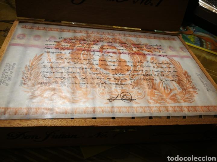 Cajas de Puros: Caja de puros completa don Julián n°1 - Foto 2 - 146590133