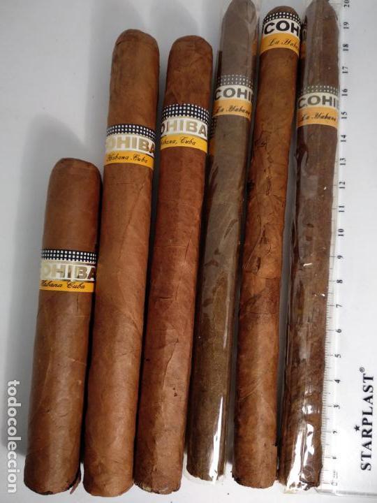 Cajas de Puros: Lote de 6 puros habanos cohiba havana Cuba habana - Foto 2 - 146684926