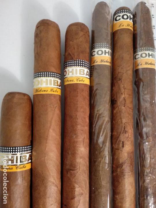 Cajas de Puros: Lote de 6 puros habanos cohiba havana Cuba habana - Foto 4 - 146684926