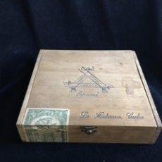 Cajas de Puros: CAJA DE MADERA DE PUROS MONTECRISTO ESPECIAL VACÍA. Lote 147124522