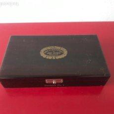 Cajas de Puros: CAJA DE PUROS CON HUMIDOR NÚMERO 1 'HOYO DE MONTERREY' DE JOSÉ GENER HABANA-CUBA. Lote 147139494