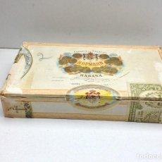 Cajas de Puros: CAJA VACIA PUROS HABANOS H.UPMANN - AROMATICOS CELLOPHANE. Lote 147278586