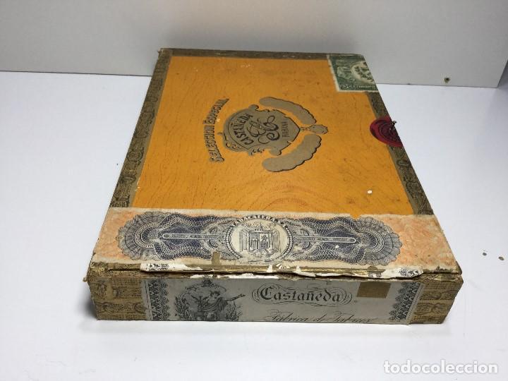 Zigarrenkisten: CAJA DE PUROS HABANA CUBA CASTAÑEDA CRISTALES - Foto 2 - 147330846