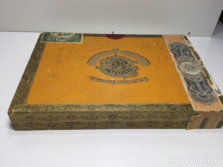 Zigarrenkisten: CAJA DE PUROS HABANA CUBA CASTAÑEDA CRISTALES - Foto 3 - 147330846