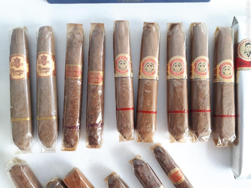 Cajas de Puros: Lote de 23 puros varias marcas, algunos cubanos más caja leer descripción - Foto 3 - 147699113