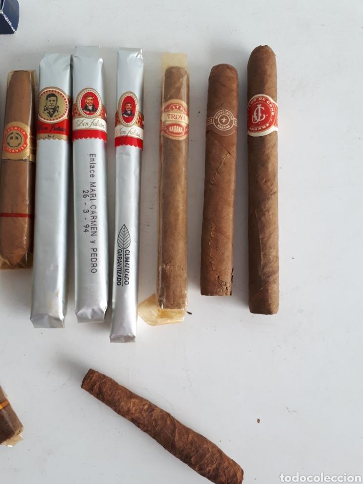 Cajas de Puros: Lote de 23 puros varias marcas, algunos cubanos más caja leer descripción - Foto 4 - 147699113