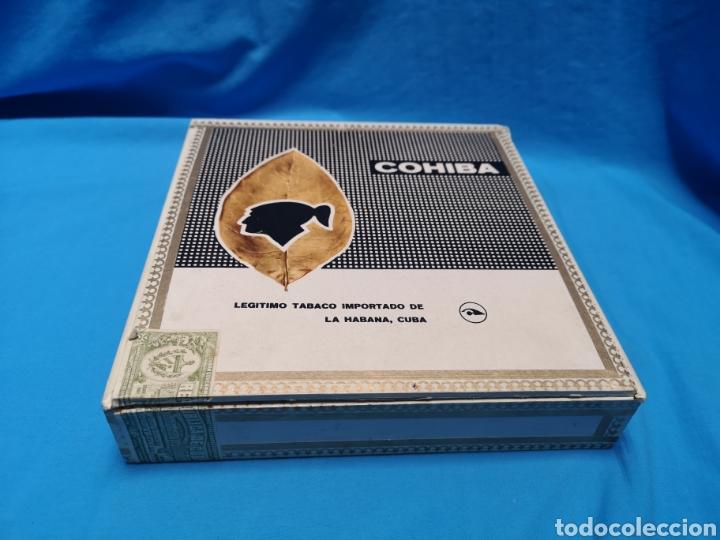 Cajas de Puros: Caja de puros con 5 lanceros cohíba habana Havana habanos Cuba - Foto 3 - 147758946