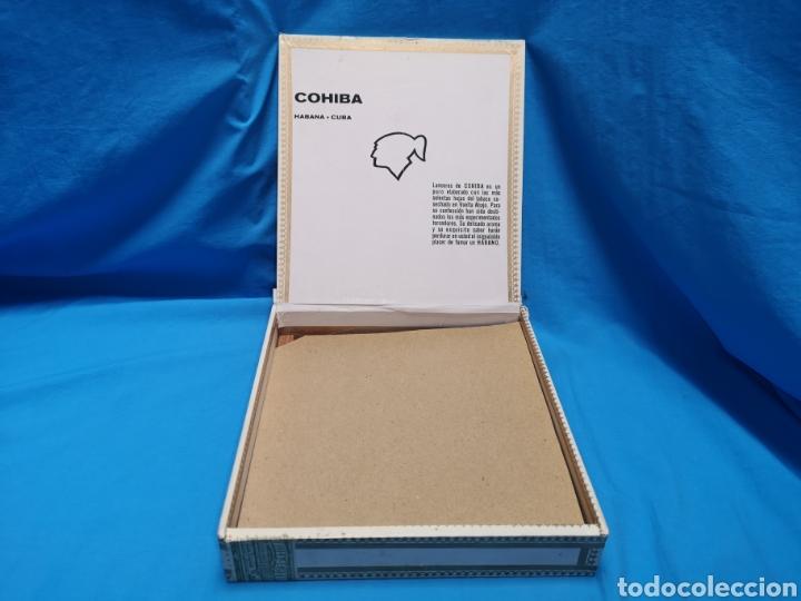 Cajas de Puros: Caja de puros con 5 lanceros cohíba habana Havana habanos Cuba - Foto 4 - 147758946