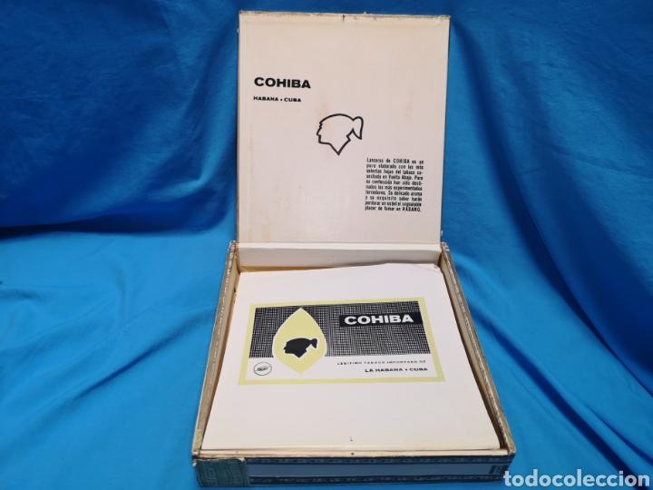 Cajas de Puros: Caja de puros con 4 cohíba lanceros Cuba habana Havana habanos - Foto 3 - 147760662
