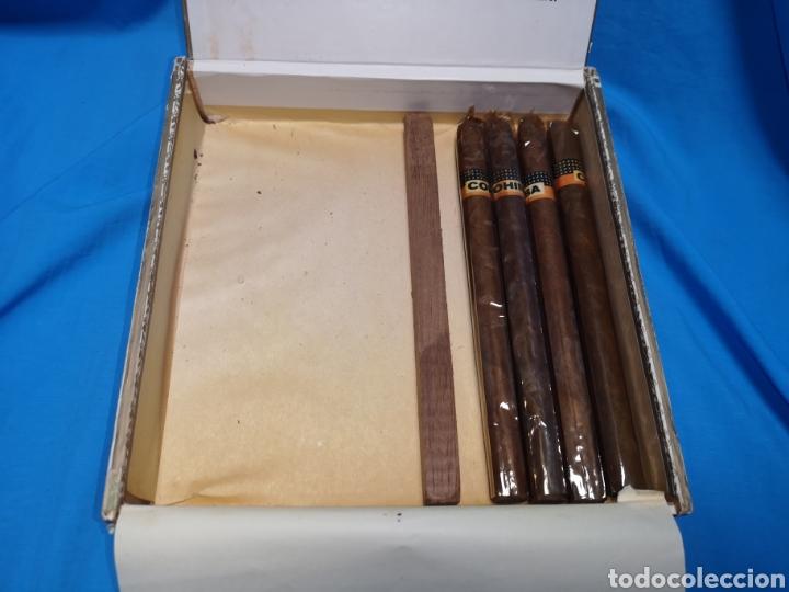Cajas de Puros: Caja de puros con 4 cohíba lanceros Cuba habana Havana habanos - Foto 4 - 147760662