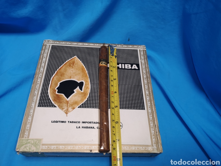 Cajas de Puros: Caja de puros con 4 cohíba lanceros Cuba habana Havana habanos - Foto 7 - 147760662