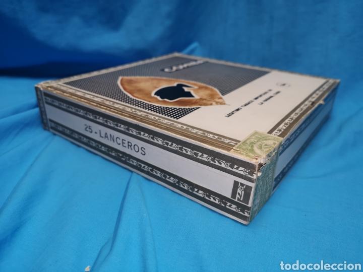 Cajas de Puros: Caja de puros con 4 cohíba lanceros Cuba habana Havana habanos - Foto 11 - 147760662
