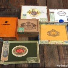Cajas de Puros: LOTE DE DIFERENTES CAJAS DE PUROS. Lote 148021050