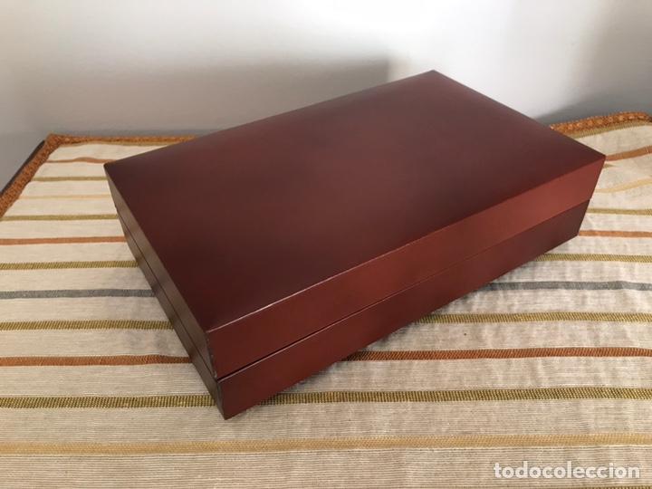 Cajas de Puros: Caja de puros cigarros de madera forrada en polipiel con música - Foto 4 - 55786364