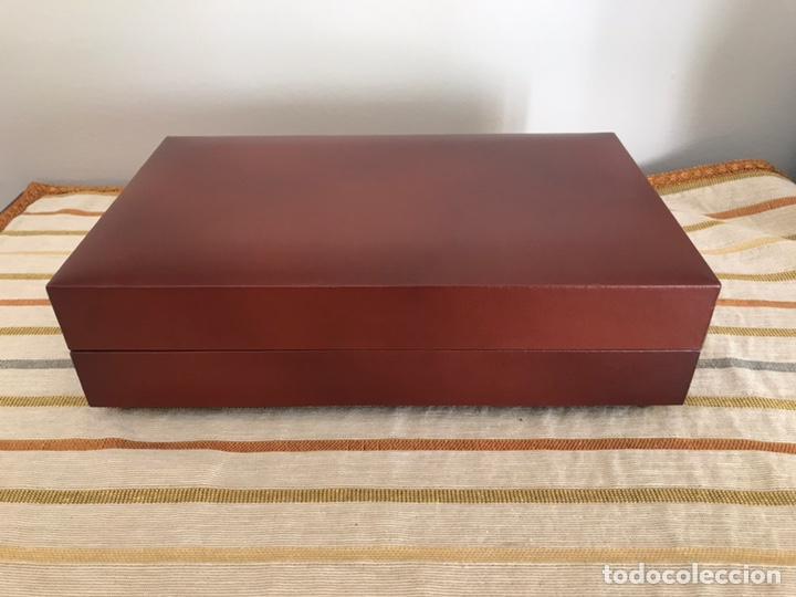 Cajas de Puros: Caja de puros cigarros de madera forrada en polipiel con música - Foto 5 - 55786364