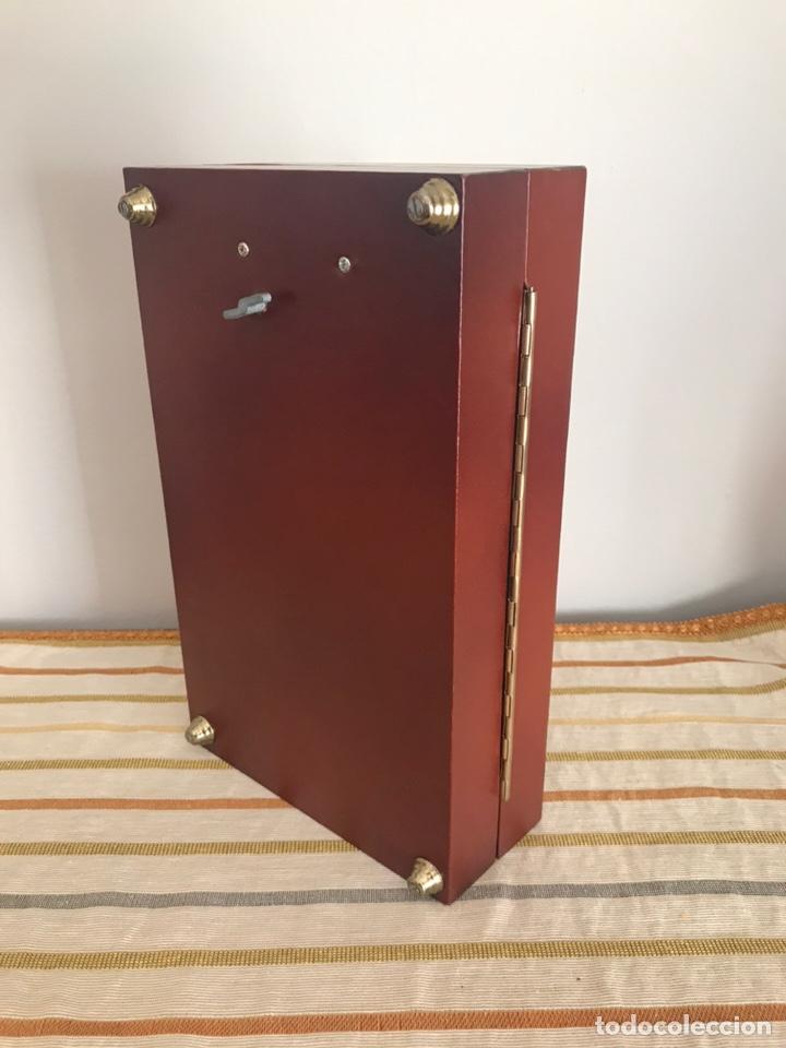 Cajas de Puros: Caja de puros cigarros de madera forrada en polipiel con música - Foto 7 - 55786364