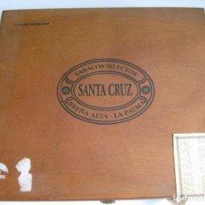 Cajas de Puros: SANTA CRUZ CRISTALES - CAJA CON 10 PUROS. Lote 148528754