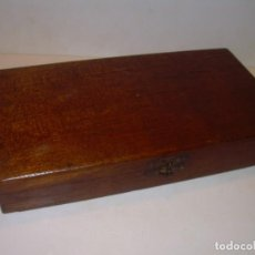 Cajas de Puros: MUY ANTIGUA Y RARA CAJA DE MADERA DE PUROS....(VACIA)..EN EL DORSO PONE Nº.1.. Lote 179104400