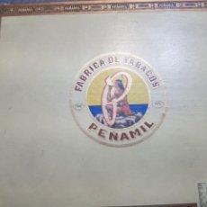 Cajas de Puros: CAJA DE PUROS PEÑAMIL CON 11 PUROS DISTINTOS DENTRO. Lote 148641228