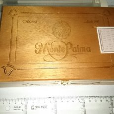 Cajas de Puros: CAJA DE PUROS MONTE PALMA, VACIA. Lote 149899562