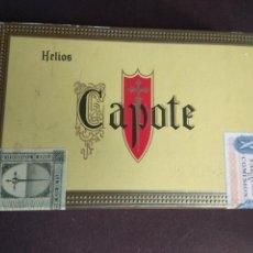 Cajas de Puros: CAJA DE PUROS SIN ABRIR CAPOTE. Lote 149967414