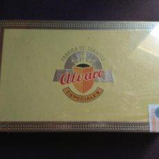 Cajas de Puros: CAJA DE PUROS SIN ABRIR ALVARO. Lote 149967934