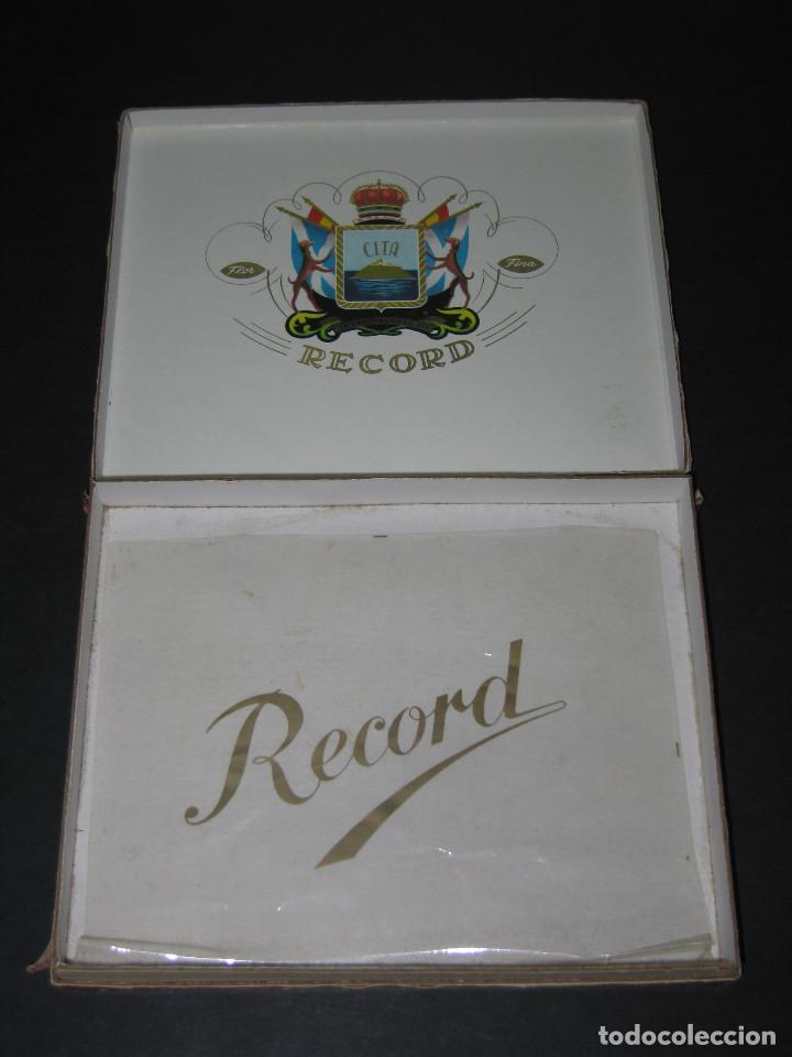 Cajas de Puros: CAJA DE PUROS - C.I.T.A. - RECORD XXX - Foto 6 - 150132270