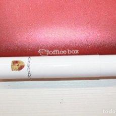Cajas de Puros: PURO MONTECRISTO, 13X2 CM, EN TUBO, PUBLICIDAD PORSCHE. Lote 150226706
