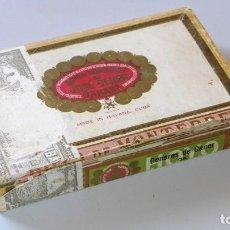 Cajas de Puros: CAJA DE PUROS ANTIGUA HOYO DE MONTERREY DE JOSÉ DE GENER, MADE IN HAVANA (CUBA). Lote 150518246
