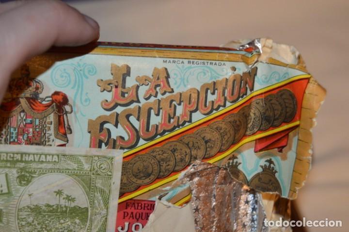 Cajas de Puros: LOTE DE PUROS, PETACA Y CORTAPUROS - COHIBA, MONTECRISTO, VEGA FINA, OTROS... - VINTAGE - ENVÍO 24H - Foto 6 - 151022882