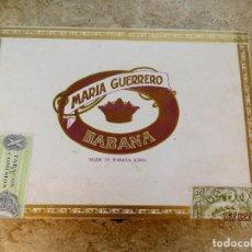 Cajas de Puros: MARIA GUERRERO 10 CRISTALES PRECINTADA - EN PERFECTAS CONDICIONES . Lote 151476074