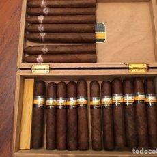 Cajas de Puros: LOTE 11 COHIBA MADURO 5 Y 7 MONTECRISTO HABANA. Lote 151687680