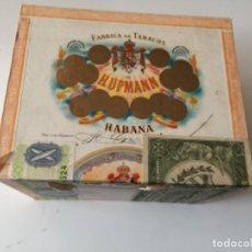 Cajas de Puros: ANTIGUA CAJA DE PUROS H. UPMANN , CUBA , VACIA. Lote 151706070