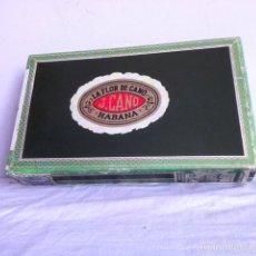 Cajas de Puros: CAJA LA FLOR DE CANO 1968. CON 10 PETIT CORONAS. Lote 151819825